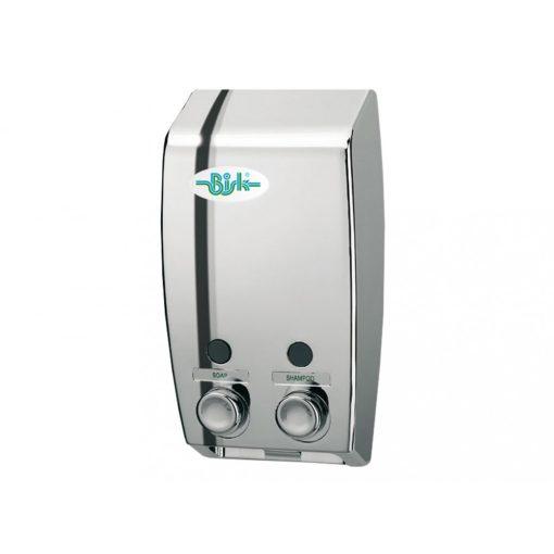 Bisk Masterline 00175 2x400 ml-es  dupla tartályos króm szappanadagoló
