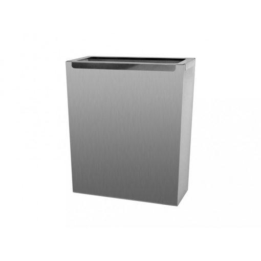 Bisk Masterline  00390 35 literes szemetes tároló rozsdamentes acélból