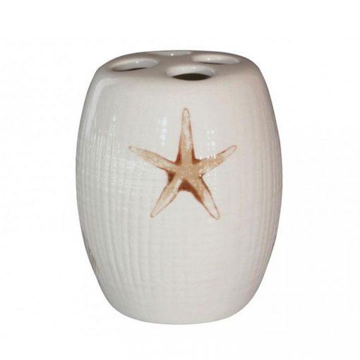 Bisk Nicesea 00470 Starfish fogkefetartó pohár