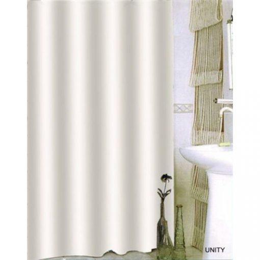 Bisk Nicesea 00839 Unity Beige 180x200 textil zuhanyfüggöny