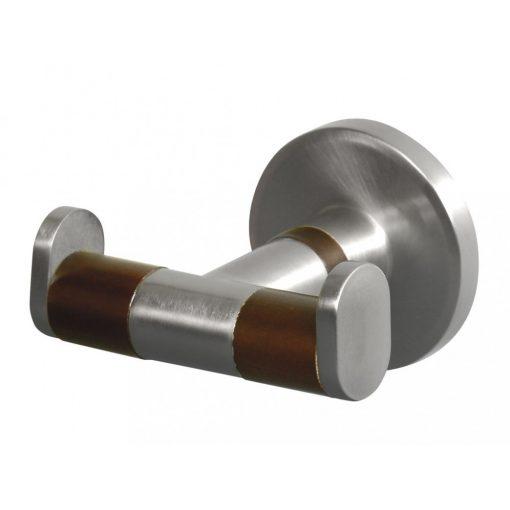Bisk MADAGASKAR 00972 kétágú fogas nikkel/fa