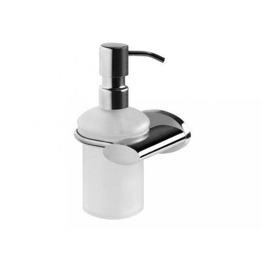 Bisk SIDE 00996 króm üveg folyékony szappan adagoló