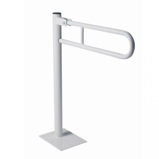Bisk Masterline 01398 600 mm-es fehér álló kapaszkodó rozsdamentes acálból