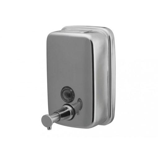 Bisk Masterline 01415 500 ml-es folyékonyszappan adagoló rozsdamentes acélból
