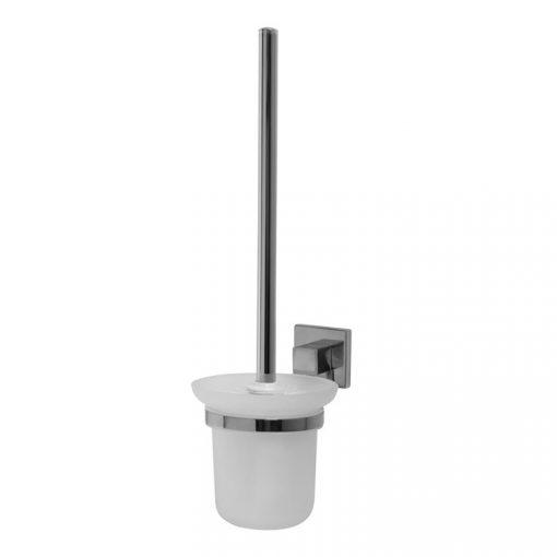Bisk ARKTIC 01475 króm WC kefe üveg tartóval