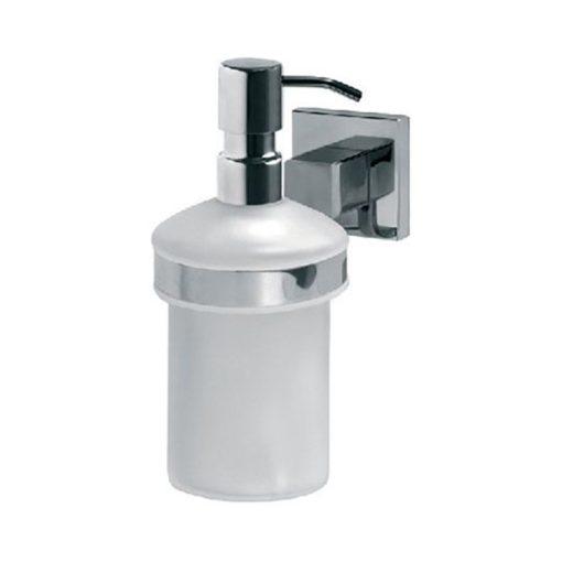 Bisk ARKTIC 01476 króm folyékonyszappan adagoló üveg betéttel