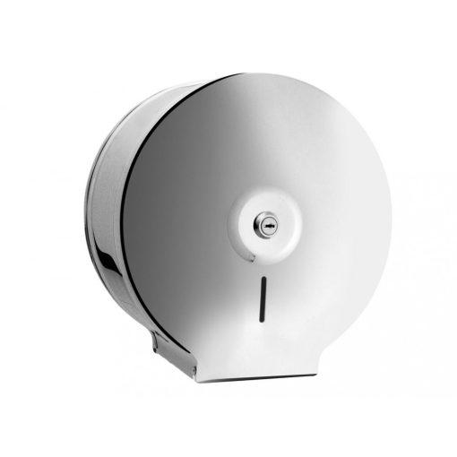 Bisk Masterline 01570 JUMBO S2 wc papír adagoló rozsdamentes acél fényes króm zárható