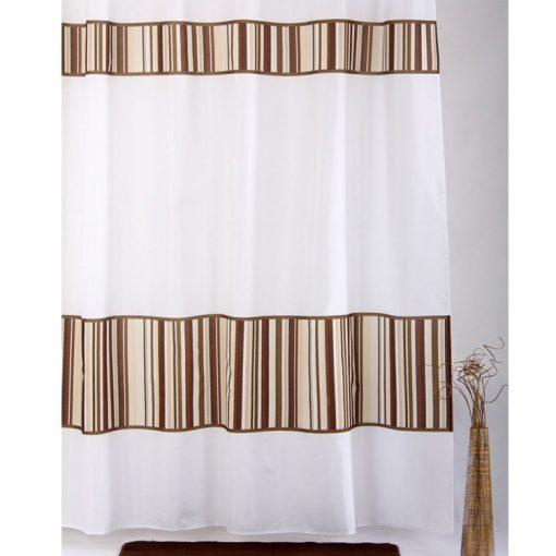 Bisk Nicesea 01583 Bamboo Multi 180x200 textil zuhanyfüggöny