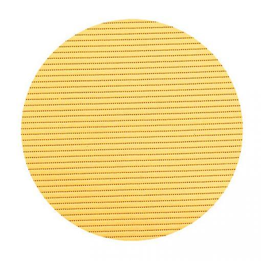 Bisk Nicesea 01614 Round sárga 45x45 habszőnyeg