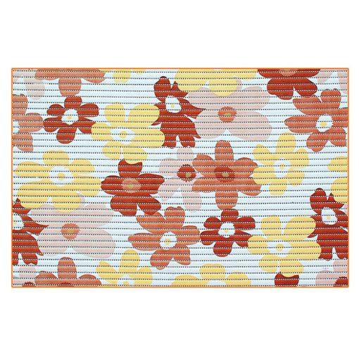Bisk Nicesea 01618 Flower barna 45x70 habszőnyeg