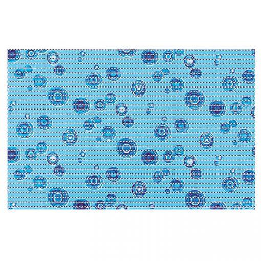 Bisk Nicesea 01623 Water kék 45x70 habszőnyeg
