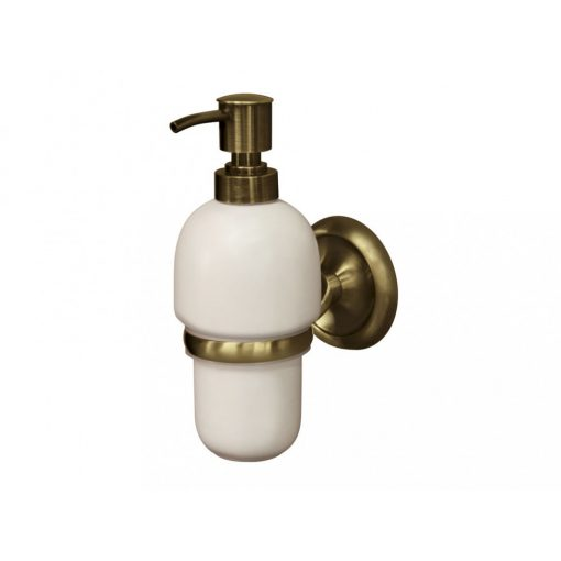 Bisk DECO 02213 antikolt folyékony szappan adagoló kerámia betéttel