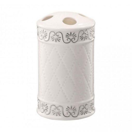 Bisk Nicesea 03050 Castello fogkefetartó pohár fehér