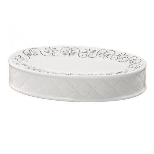 Bisk Nicesea 03052 Castello szappantál fehér