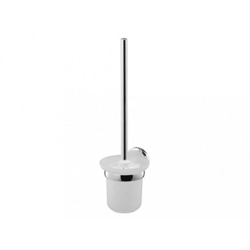 Bisk SENSATION 03094 króm WC kefe üveg tartóval
