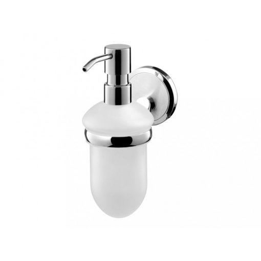 Bisk SENSATION 03095 króm folyékony szappan adagoló üveg betéttel