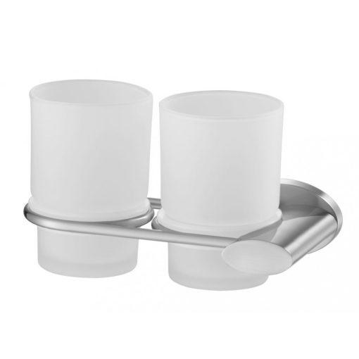 Bisk SIDE 03119 matt króm dupla pohártartó