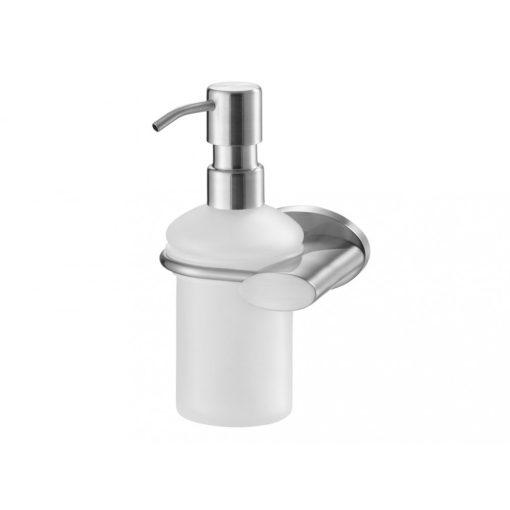 Bisk SIDE 03120 matt króm üveg folyékony szappan adagoló