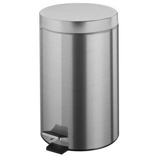 Bisk NIAGARA 03275 mattkróm 5 literes pedálos szemetes rozsdamentes acél