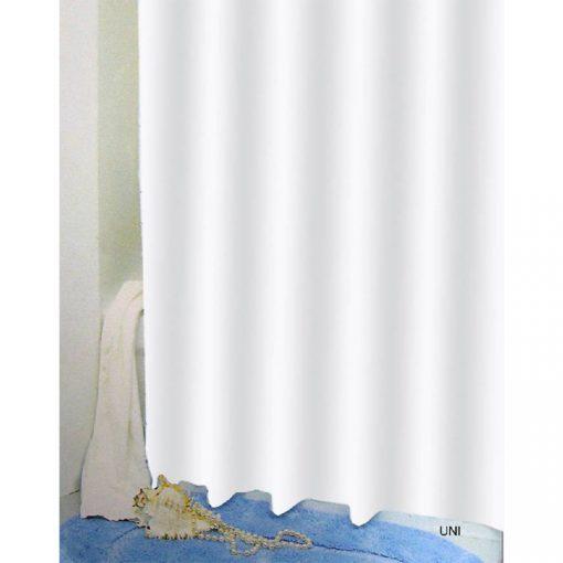Bisk Nicesea 03502 Uni White 180x200 Peva zuhanyfüggöny fehér