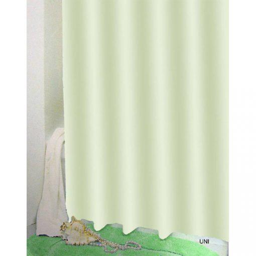 Bisk Nicesea 03503 Uni Green 180x200 Peva zuhanyfüggöny zöld