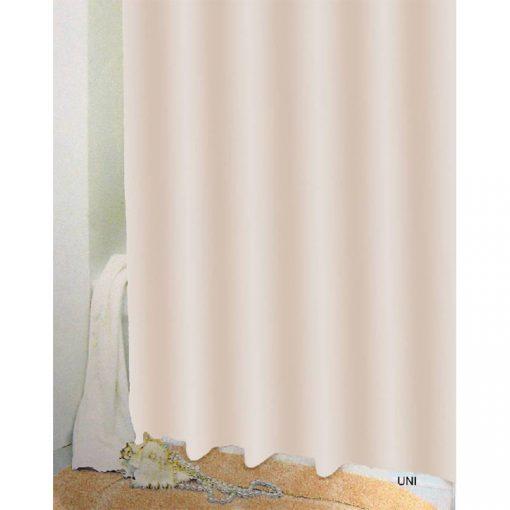 Bisk Nicesea 03512 Uni Beige 180x200 Peva zuhanyfüggöny bézs