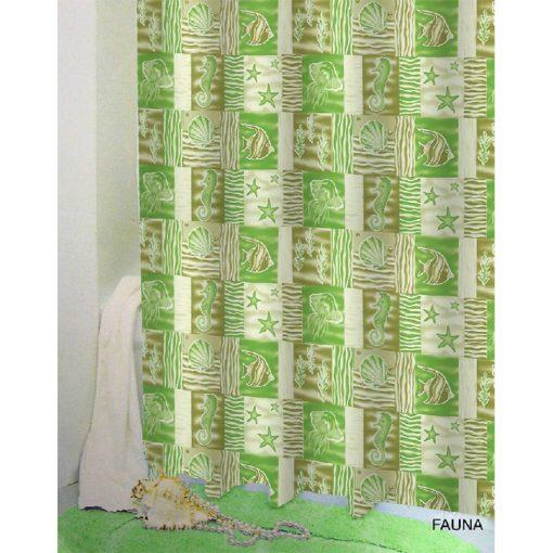 Bisk Nicesea 03562 Fauna Multi 180x200 Peva zuhanyfüggöny