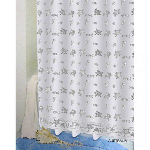 Bisk Nicesea 03567 Australia 180x200 Peva zuhanyfüggöny