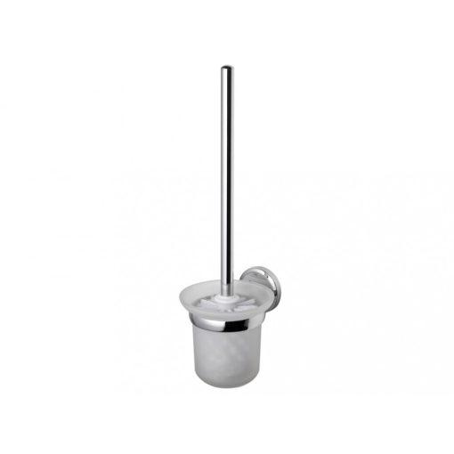 Bisk SEDUCTION 03583 króm fali WC kefe üvegtartóval