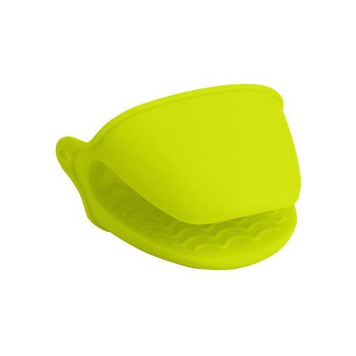 Bisk 4Kitchen 03744 szilikon edényfogó kesztyű, lemon new 4KITCHEN
