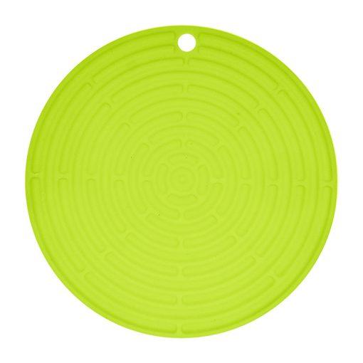 Bisk 4Kitchen 03749 Round kerek konyhai szilikon alátét, lemon