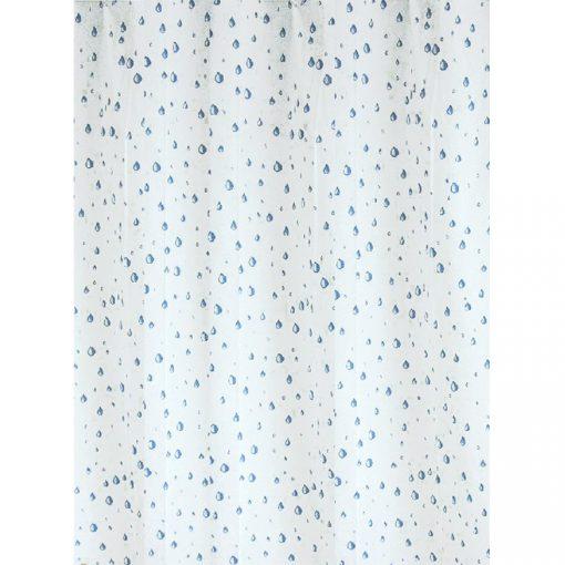 Bisk Nicesea 03910 Drops Blue 180x200 Peva zuhanyfüggöny