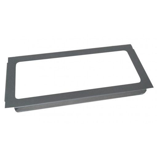 Bisk Masterline 04045 35 literes szemetes tároló fedél rozsdamentes acélból