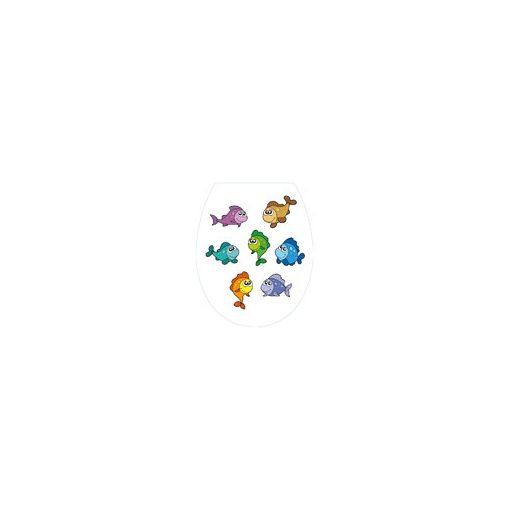 Bisk IRIS 04151 halak mintás wc ülőke