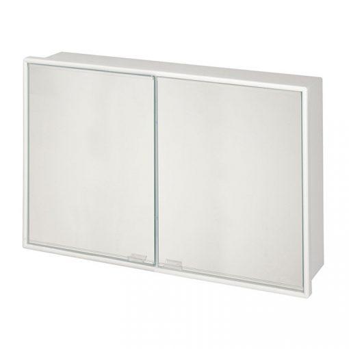 Bisk DAPHNE 04256 fehér két ajtós fali tükrös szekrény