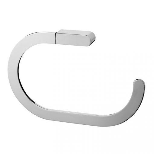 Bisk NATURA 04322 króm törölközőtartó gyűrű