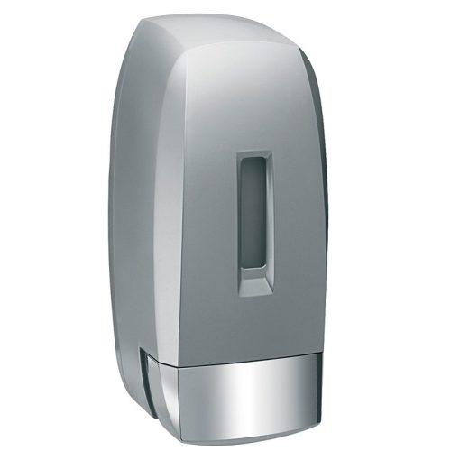 Bisk Masterline 04587 500 ml-es H2 folyékonyszappan és kézfertőtlenítőszer adagoló, ezüst