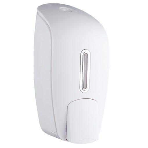 Bisk Masterline 04589 1000 ml-es F1 folyékonyszappan és kézfertőtlenítőszer adagoló, fehér