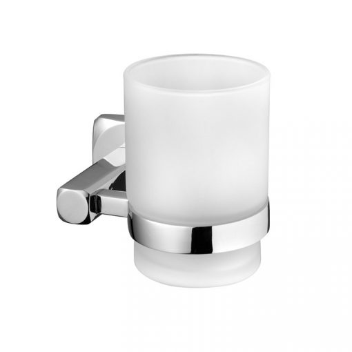 Bisk ICE 04850 króm tartós üveg pohár