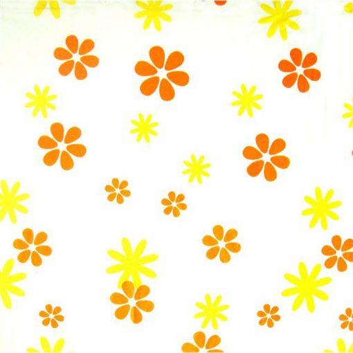 Bisk Nicesea 05168 Sun Orange 180x200 Peva zuhanyfüggöny