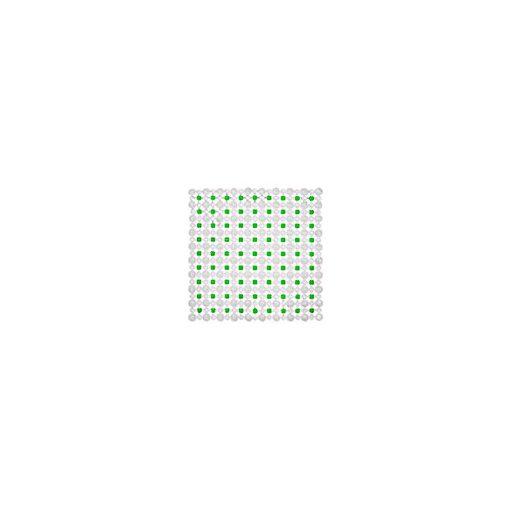Bisk Nicesea 05199 Simply zöld 45x45 csúszásgátló