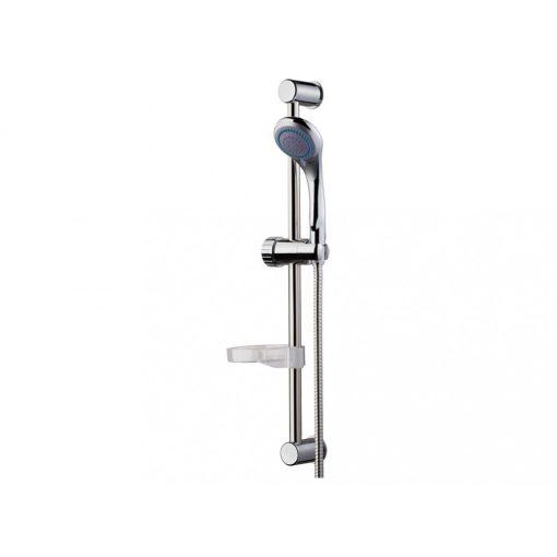 Bisk BASE 05361 króm zuhanyszett 3 funkciós zuhanyszettel, 150 cm-es gégecsővel