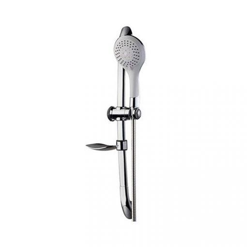Bisk BASE 05362 króm zuhanyszett 5 funkciós zuhanyszettel, 150 cm-es gégecsővel