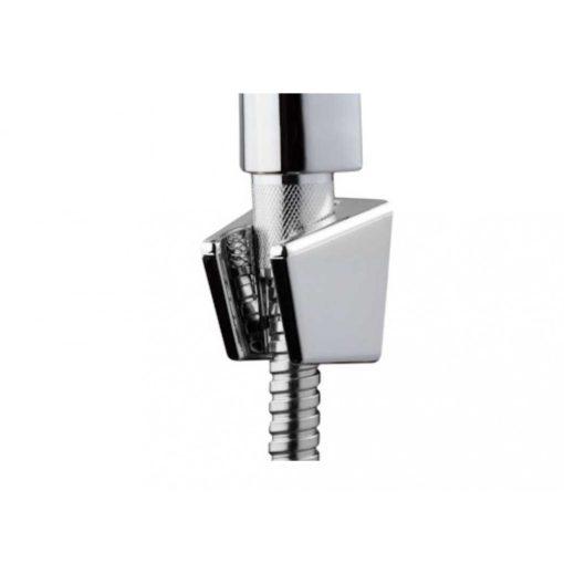 Bisk BASE 05363 króm fali zuhanytartó