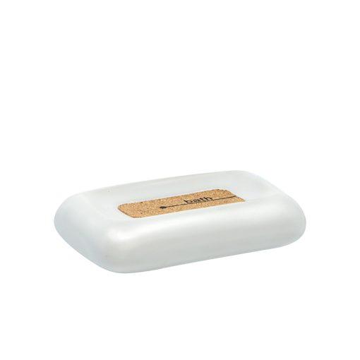 Bisk CORSA 05586 szappantartó tál, fehér