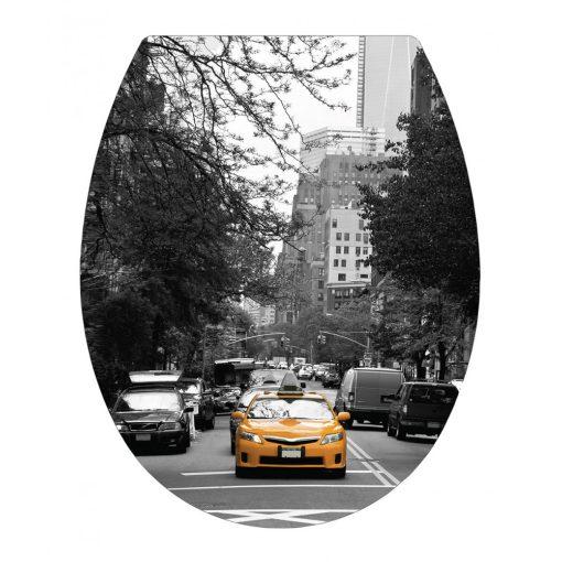 Bisk New York 05796 lecsapódásgátlós duroplast wc ülőke