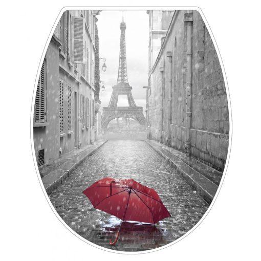 Bisk Paris 05797 lecsapódásgátlós duroplast wc ülőke