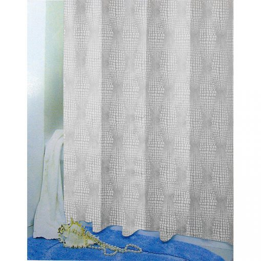 Bisk Nicesea 05838 Rain White 180x200 Peva zuhanyfüggöny fehér