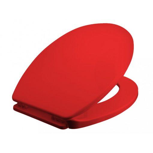 Bisk IRIS 05866 wc ülőke piros