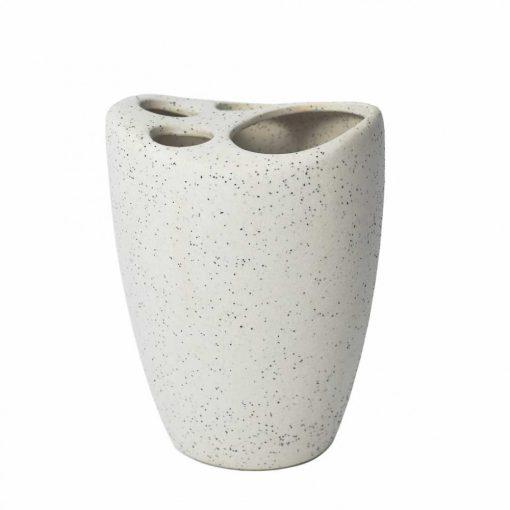 Bisk Nicesea 05972 Desert fogkefetartó pohár bézs